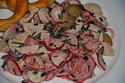 Rettich - Weißwurst - Salat 22