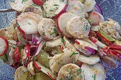 Rettich - Weißwurst - Salat 21