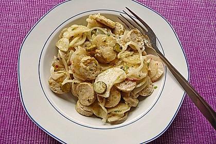 Rettich - Weißwurst - Salat 16