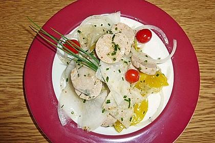 Rettich - Weißwurst - Salat 13