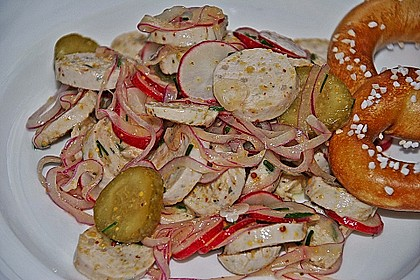 Rettich - Weißwurst - Salat 4