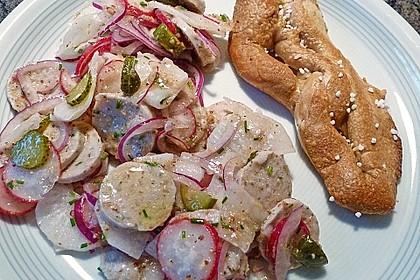 Rettich - Weißwurst - Salat 5