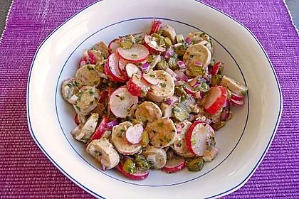 Rettich - Weißwurst - Salat 6