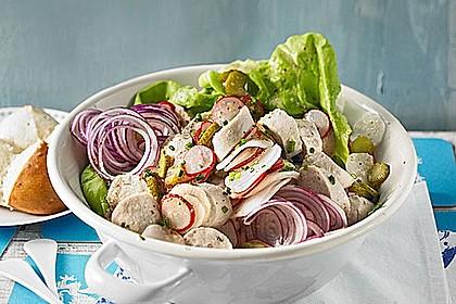 Rettich - Weißwurst - Salat 1