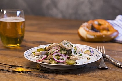 Rettich - Weißwurst - Salat 2