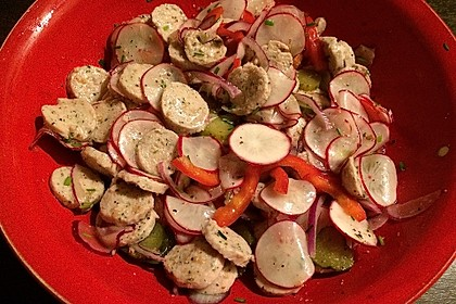 Rettich - Weißwurst - Salat 28