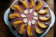 Mousse au Chocolat  - Orangentorte