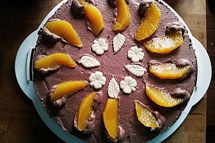 Mousse au Chocolat  - Orangentorte 0