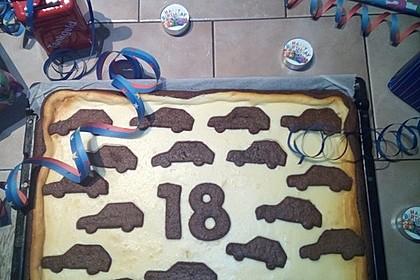 Russischer Zupfkuchen vom Blech für den Kindergeburtstag 78