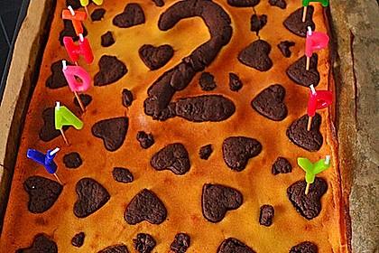 Russischer Zupfkuchen vom Blech für den Kindergeburtstag 66