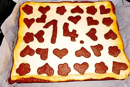 Russischer Zupfkuchen vom Blech für den Kindergeburtstag 91