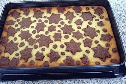 Russischer Zupfkuchen vom Blech für den Kindergeburtstag 9