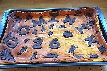 Russischer Zupfkuchen vom Blech für den Kindergeburtstag 83