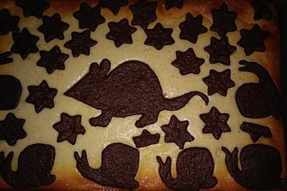 Russischer Zupfkuchen vom Blech für den Kindergeburtstag 60