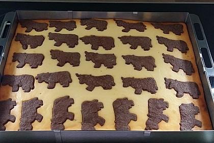 Russischer Zupfkuchen vom Blech für den Kindergeburtstag 33
