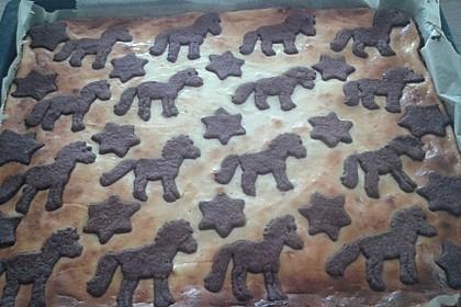 Russischer Zupfkuchen vom Blech für den Kindergeburtstag 39