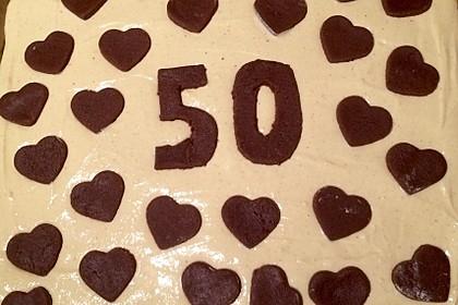 Russischer Zupfkuchen vom Blech für den Kindergeburtstag 100