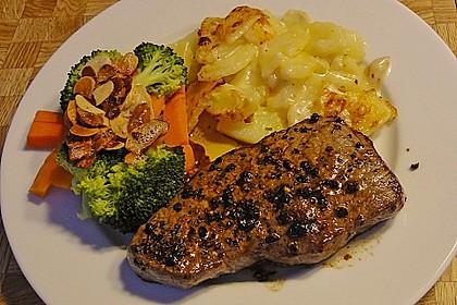 Steak au poivre 1