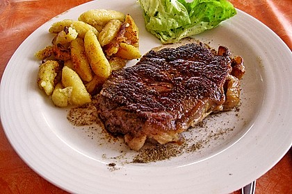 Steak au poivre 2