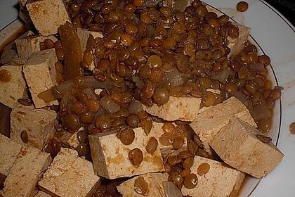 Linseneintopf mit Tofuwürfeln 6