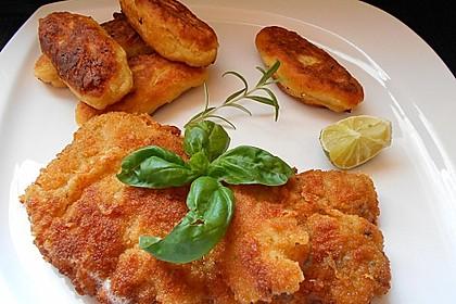 Zitronen-Schnitzel mit Parmesanpanade 9