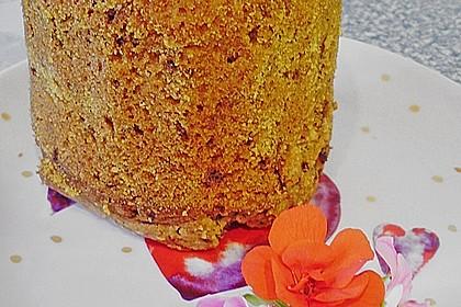 Butter - Vanille - Haselnuss - Kuchen im Glas mit Schokotröpfchen 9
