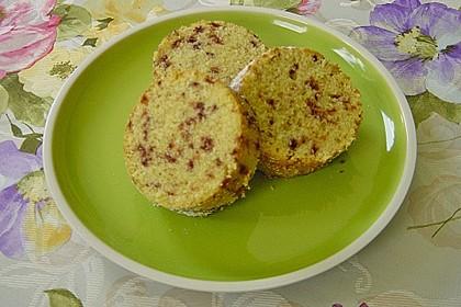 Butter - Vanille - Haselnuss - Kuchen im Glas mit Schokotröpfchen 5