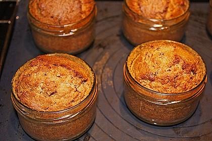 Butter - Vanille - Haselnuss - Kuchen im Glas mit Schokotröpfchen 3
