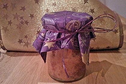 Butter - Vanille - Haselnuss - Kuchen im Glas mit Schokotröpfchen 21