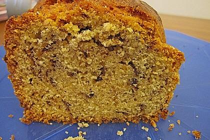 Butter - Vanille - Haselnuss - Kuchen im Glas mit Schokotröpfchen 20