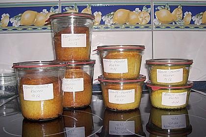 Butter - Vanille - Haselnuss - Kuchen im Glas mit Schokotröpfchen 27