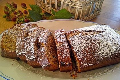 Butter - Vanille - Haselnuss - Kuchen im Glas mit Schokotröpfchen 10
