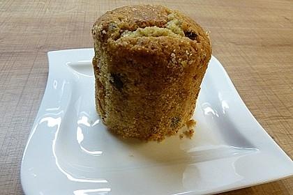 Butter - Vanille - Haselnuss - Kuchen im Glas mit Schokotröpfchen 17