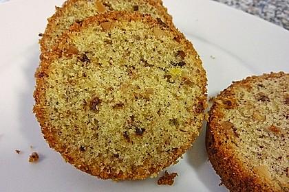 Butter - Vanille - Haselnuss - Kuchen im Glas mit Schokotröpfchen 8