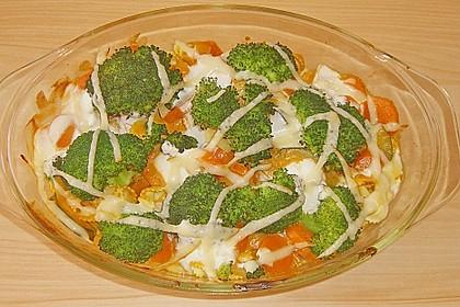 Gemüsegratin mit Zitronengras