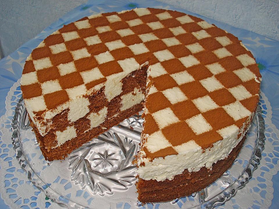 Торт песочного шахматного рецепт