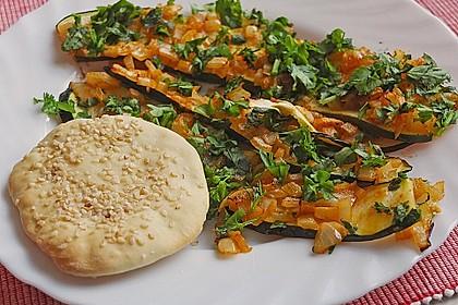 Marokkanische Chermoula - Zucchini
