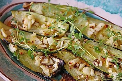 Marokkanische Chermoula - Zucchini 2