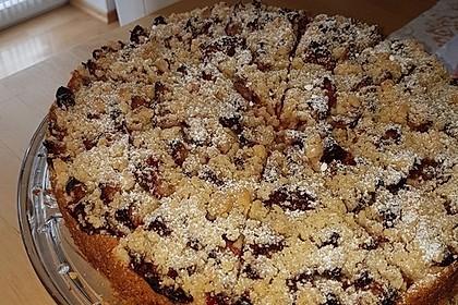 Pflaumenkuchen mit Streuseln 32