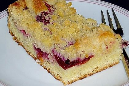 Pflaumenkuchen mit Streuseln 17