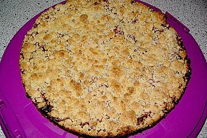 Pflaumenkuchen mit Streuseln 49