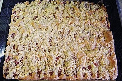Pflaumenkuchen mit Streuseln 90