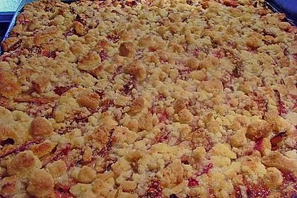 Pflaumenkuchen mit Streuseln 18