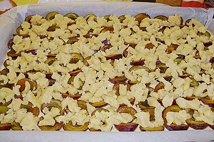 Pflaumenkuchen mit Streuseln 93