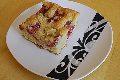 Pflaumenkuchen mit Streuseln 36