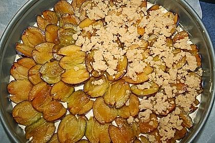 Pflaumenkuchen mit Streuseln 91
