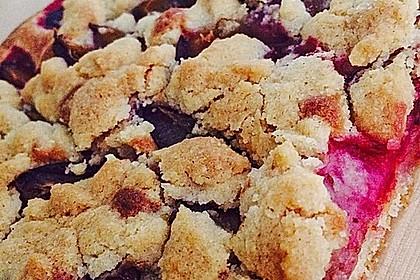 Pflaumenkuchen mit Streuseln 13