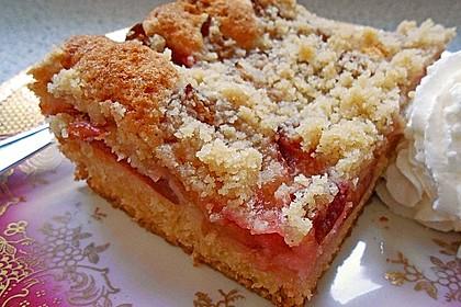 Pflaumenkuchen mit Streuseln 27