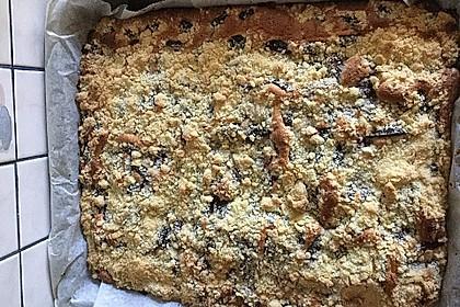 Pflaumenkuchen mit Streuseln 35