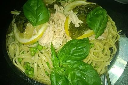 Linguine al limone 8